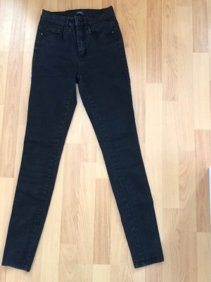 only jeans High Waist Trousers black