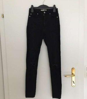 Schwarze high waist super skinny Jeans NEU