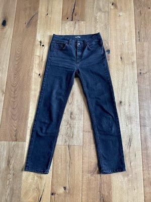 Angels Jeans slim noir coton