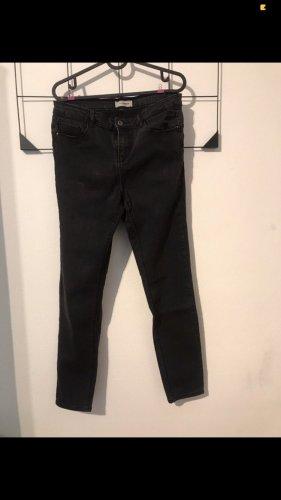 Schwarze Highwaist Jeans