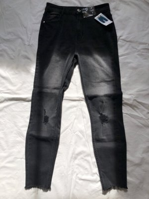 schwarze highwaist skinny Jeans
