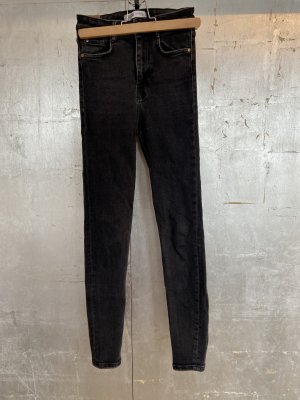 Zara Trafaluc High Waist Trousers black-anthracite