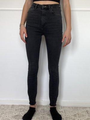 Schwarze highwaisted Jeans gr. XS/ S