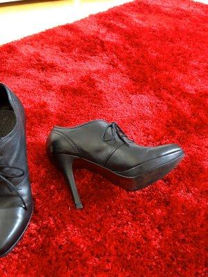 5th Avenue Chaussure à talons carrés noir cuir