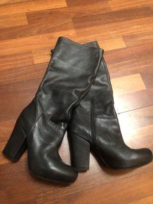 Unisa Ocieplane buty czarny