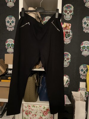 Yessica Drainpipe Trousers black
