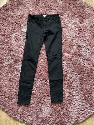 High Waist Trousers black