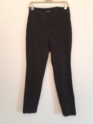 Cambio Pantalon en jersey noir-gris anthracite