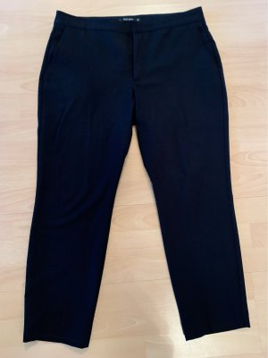 Zara Basic Pantalon large noir
