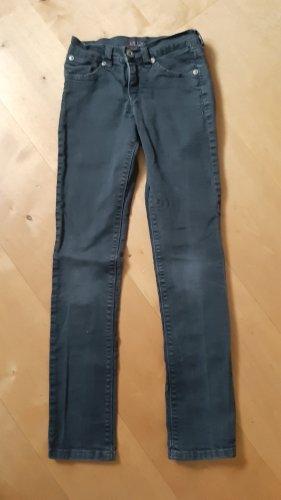 Joker Pantalon taille basse noir-gris anthracite