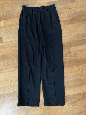 COS Woolen Trousers black wool