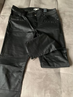 H&M pantalón de cintura baja negro