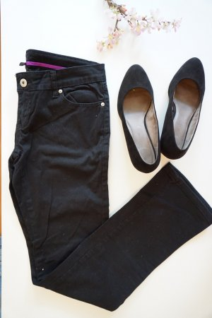 Amisu Drainpipe Trousers black
