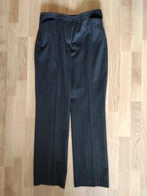 Brunetti Wełniane spodnie czarny Wełna
