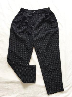 Schwarze Hose / Chino mit weißen Punkten von Monki NEU