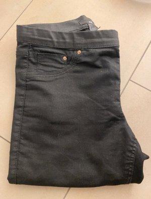H&M Spodnie rurki czarny