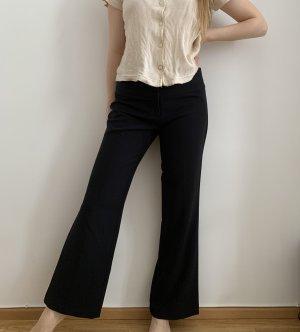 Amisu Pantalón de campana negro