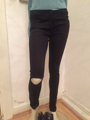 H&M Stretch Trousers black