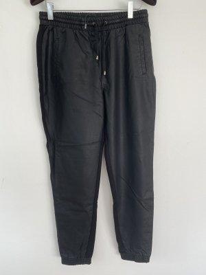 schwarze Hose Lederoptik ONLY