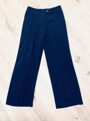 0039 Italy Pantalon Marlene noir viscose