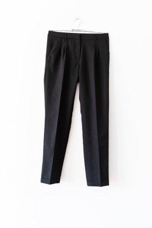 H&M Pantalon à pinces noir polyester