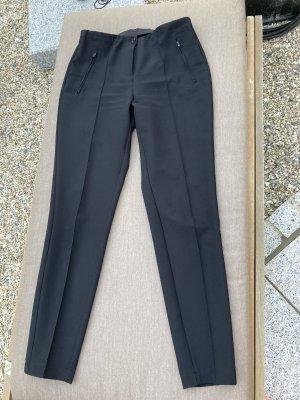 schwarze Hose mit Bundfalte Größe 36