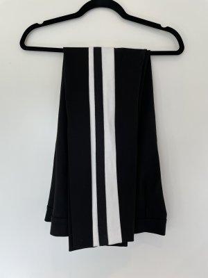 Escada Sport Spodnie ze stretchu czarny-biały