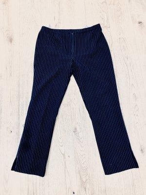 M&S pantalón de cintura baja negro-blanco puro Poliéster
