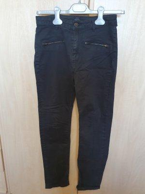 123 Paris Spodnie rurki czarny