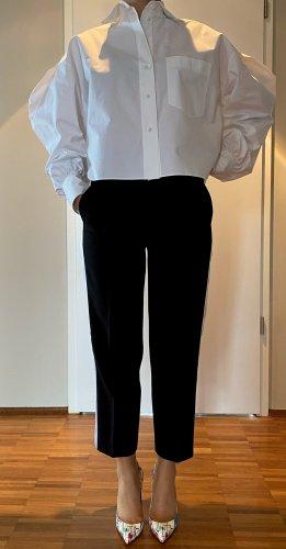 Acne Studios Spodnie 7/8 czarny-biały