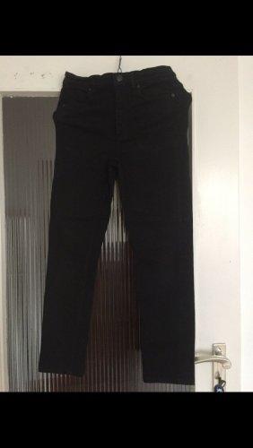 COS Pantalon taille haute noir