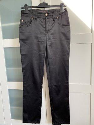 Galliano Pantalon cinq poches noir