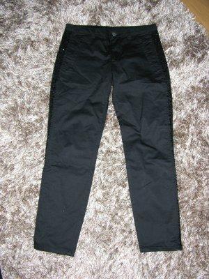 Schwarze Hose von United Colors of Benetton Gr. 36 Neu