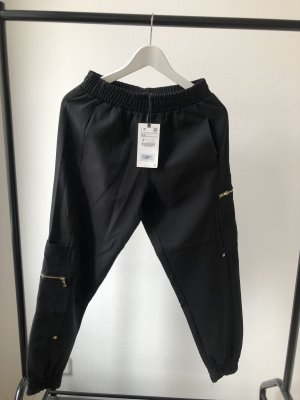 Zara Cargobroek zwart