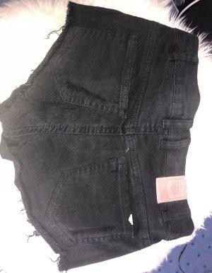 Schwarze Hotpants neuwertig in XXS