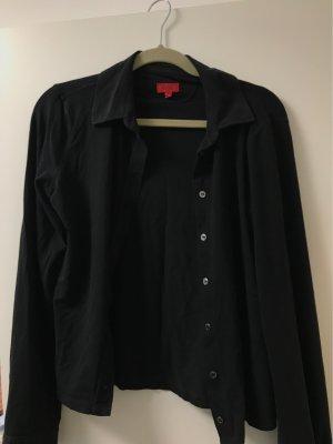 schwarze Hugo Boss Bluse Gr. L