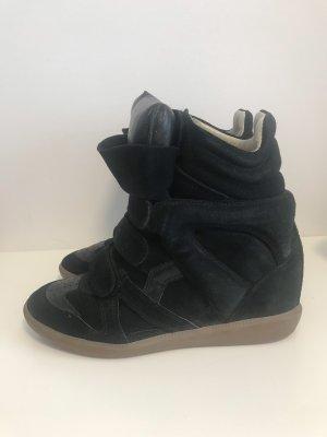 Marant Isabel Isabel Wedge Sneaker Black Wedge Marant eWEID92YH