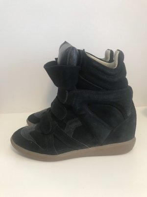 Wedge Isabel Isabel Marant Sneaker Black Marant ynNm80wvO