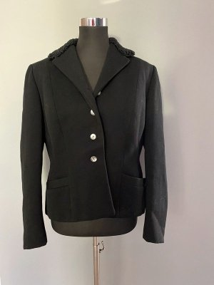 AB Design Short Blazer black wool