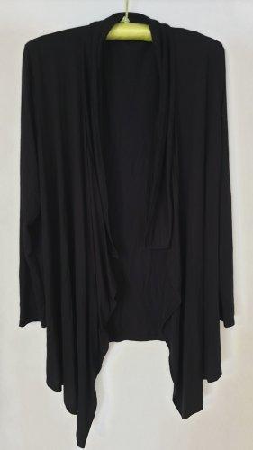 Schwarze Jacke Gr. 42/44 Viskose