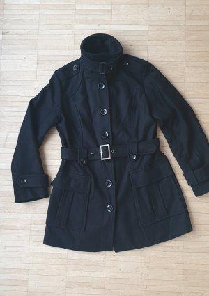 schwarze Jacke im Armeestil, Gr. M