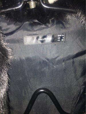 Hallhuber Giacca in eco pelliccia nero