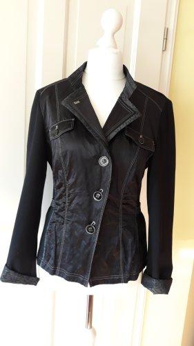 schwarze Jacke Kurzblazer von Gerry Weber Gr. 40 - wenig getragen-