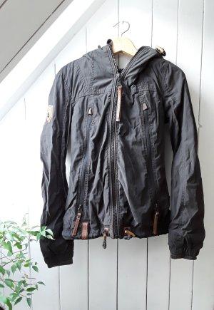 Schwarze Jacke von Naketano