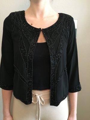Object Chaqueta tipo blusa negro