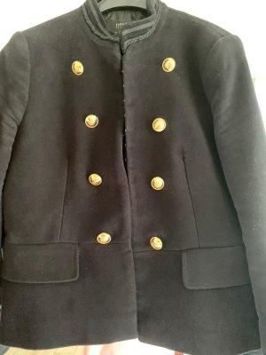 Schwarze Jacke von Zara Gr. 38, wie neu
