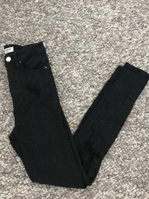 Tally Weijl Hoge taille jeans zwart