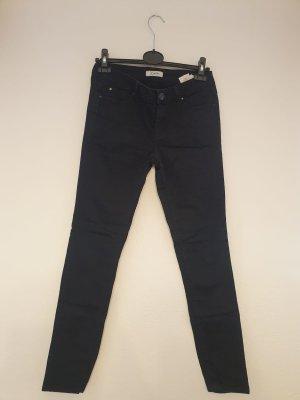 Pimkie Pantalon cinq poches noir tissu mixte