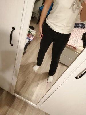 s.Oliver Jeans taille basse noir coton