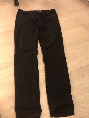 H&M Divided Jeansy ze stretchu czarny